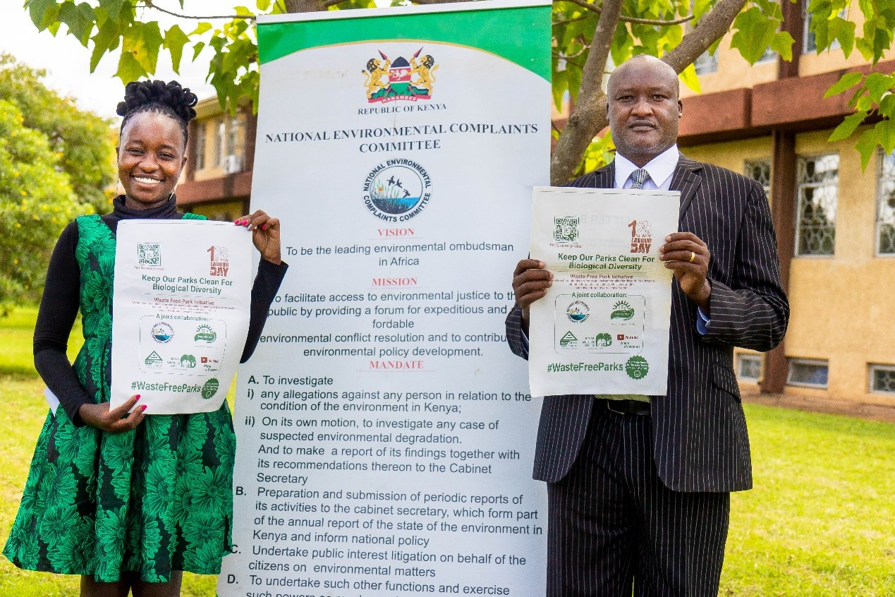 Joint partnership seeks to promote environment conservation in parks